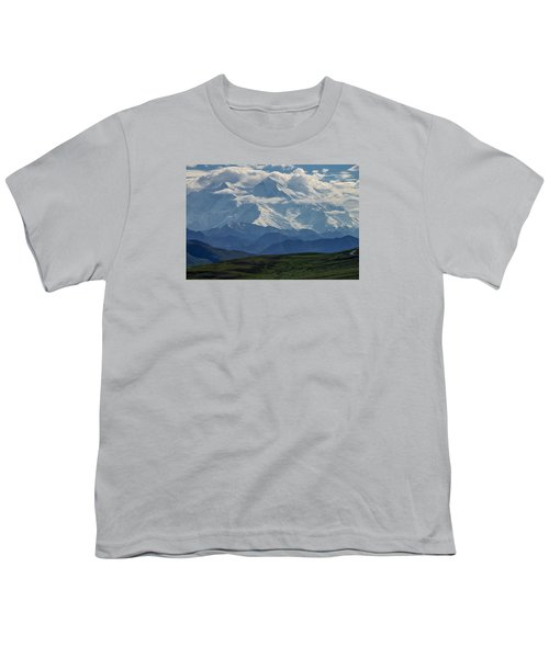 Youth T-Shirt featuring the photograph Denali by Gary Lengyel