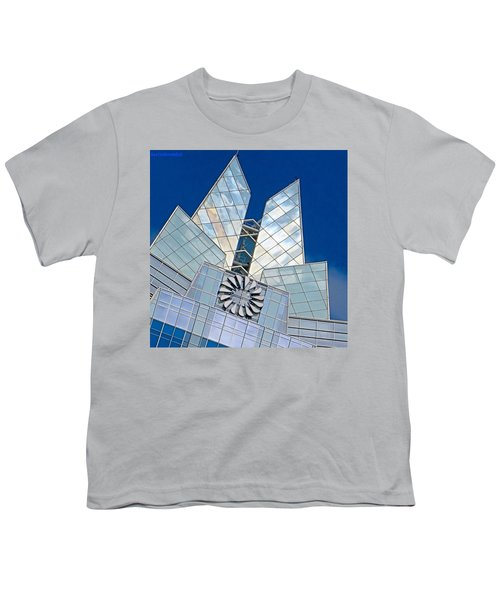 My Favorite #building In #myhometown Youth T-Shirt by Austin Tuxedo Cat