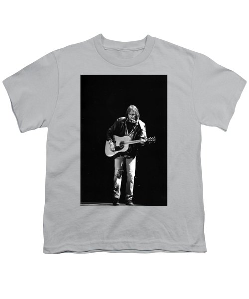 Neil Young Youth T-Shirt by Wayne Doyle
