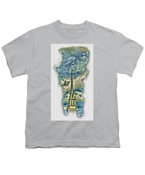 Old North Church Steeple Youth T-Shirt