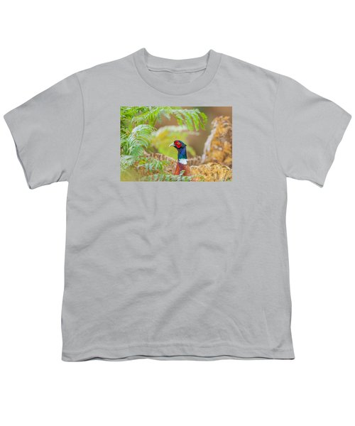 Pheasant Portrait Youth T-Shirt