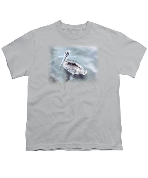 Radiant Pelican Youth T-Shirt by Korrine Holt