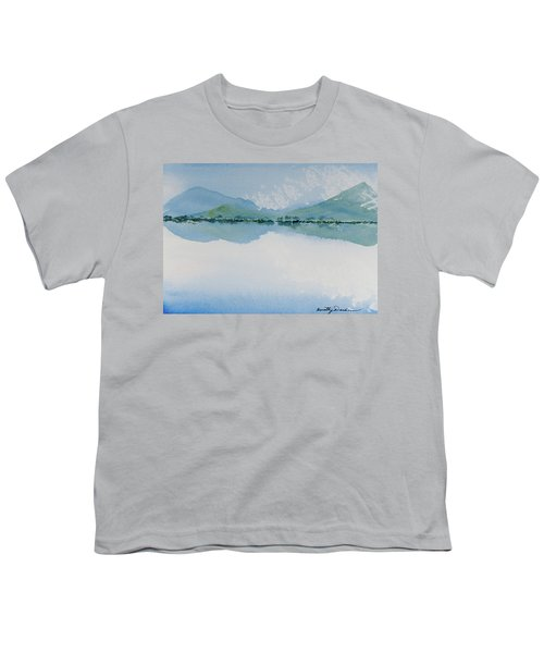 Reflections Of The Skies And Mountains Surrounding Bathurst Harbour Youth T-Shirt