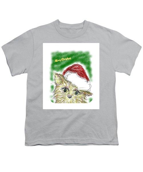 Santa Cat Youth T-Shirt