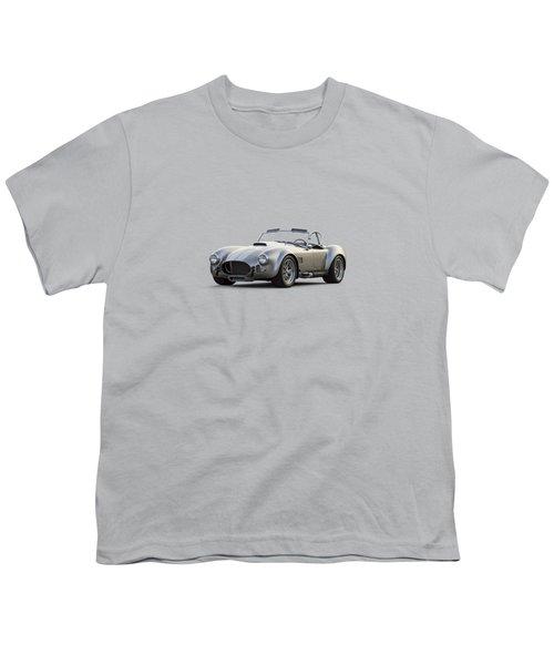 Silver Ac Cobra Youth T-Shirt by Douglas Pittman