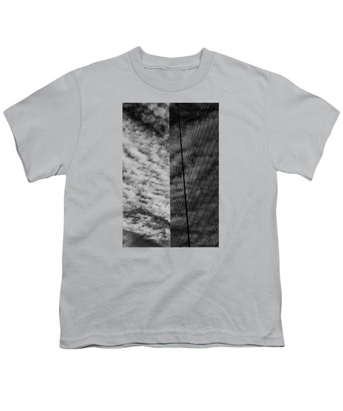 Youth T-Shirt featuring the photograph Sky Show by Lora Lee Chapman