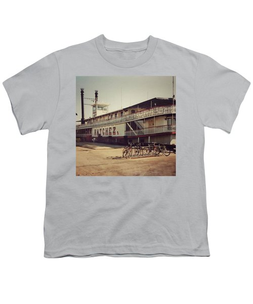 Ss Natchez, New Orleans, October 1993 Youth T-Shirt by John Edwards