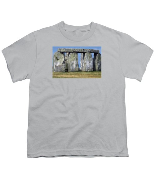 Stonehenge Youth T-Shirt by Travel Pics