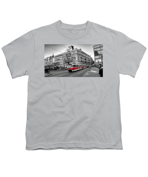 Streets Of Prague Youth T-Shirt