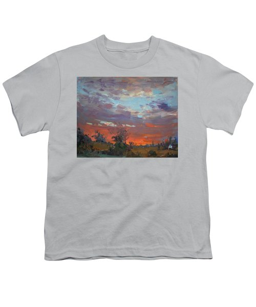 Sunset After Thunderstorm Youth T-Shirt