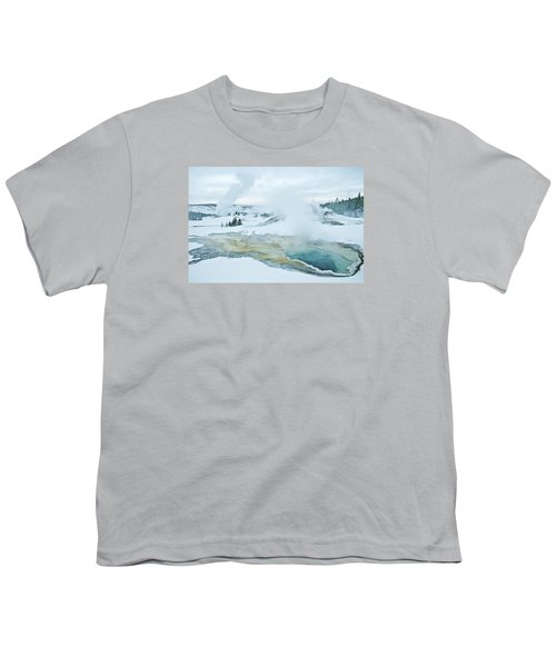 Surreal Landscape Youth T-Shirt by Gary Lengyel
