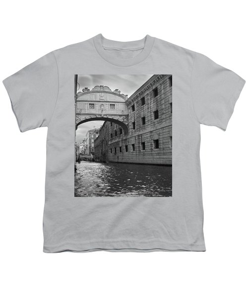 The Bridge Of Sighs, Venice, Italy Youth T-Shirt
