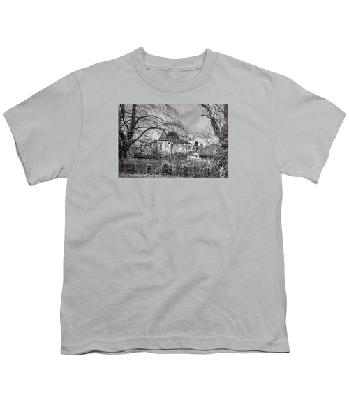 Youth T-Shirt featuring the photograph The Claremont by Jeremy Lavender Photography
