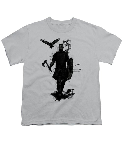 To Valhalla Youth T-Shirt by Nicklas Gustafsson