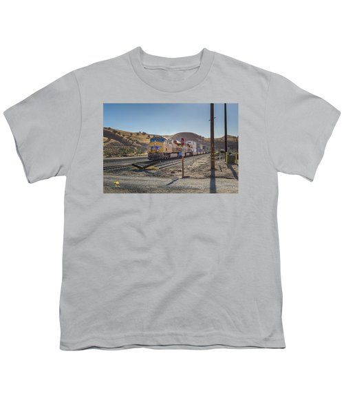 Youth T-Shirt featuring the photograph Up7472 by Jim Thompson