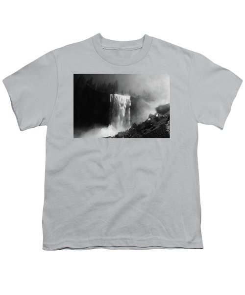Vernal Fall And Mist Trail Youth T-Shirt