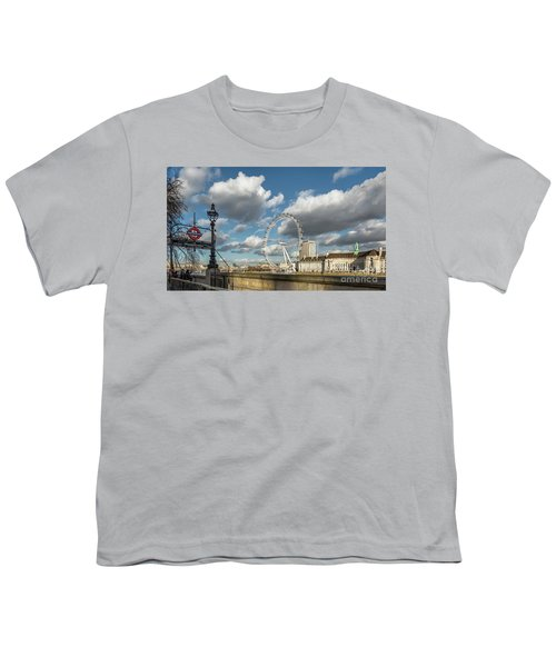 Victoria Embankment Youth T-Shirt by Adrian Evans