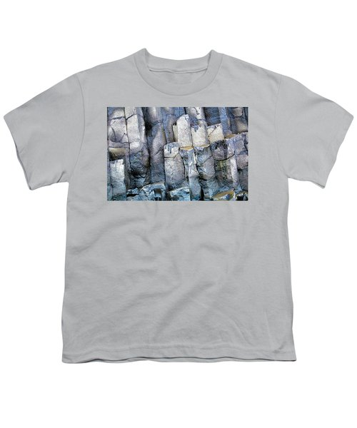 Youth T-Shirt featuring the photograph Wet Rocks 2 by Hitendra SINKAR