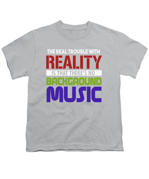Background Music Youth T-Shirt