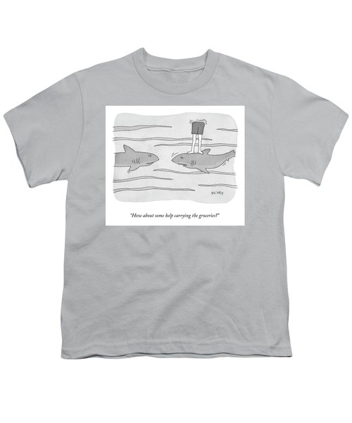 How About Some Help Youth T-Shirt
