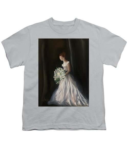 Youth T-Shirt featuring the painting The Big Day by Fe Jones