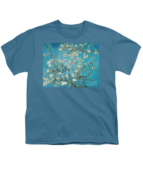 Almond Branches In Bloom Youth T-Shirt