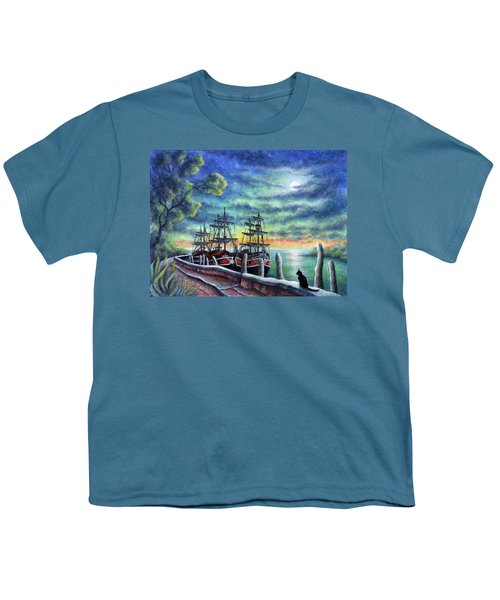 And We Shall Sail My Love And I Youth T-Shirt