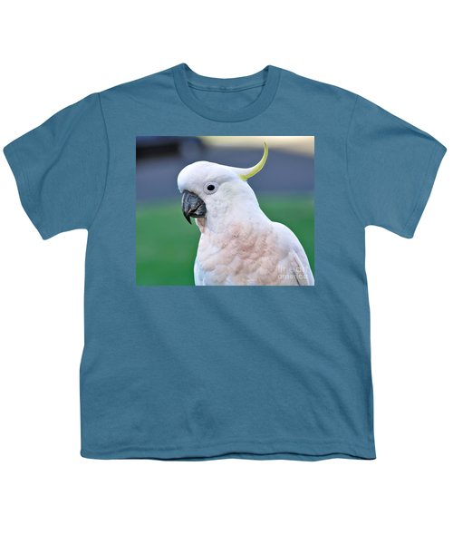 Australian Birds - Cockatoo Youth T-Shirt