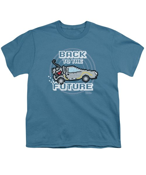 Back To The Future - 8 Bit Future Youth T-Shirt