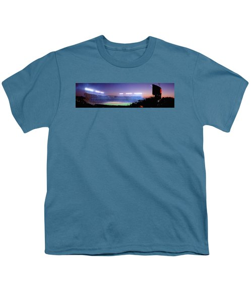 Baseball, Cubs, Chicago, Illinois, Usa Youth T-Shirt