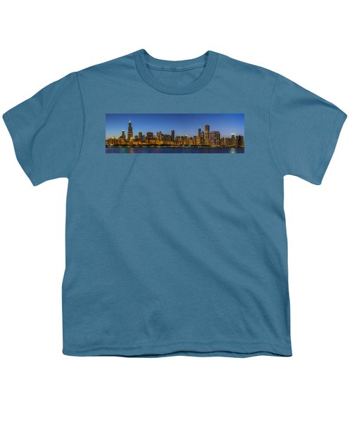 Youth T-Shirt featuring the photograph Clear Blue Sky by Sebastian Musial