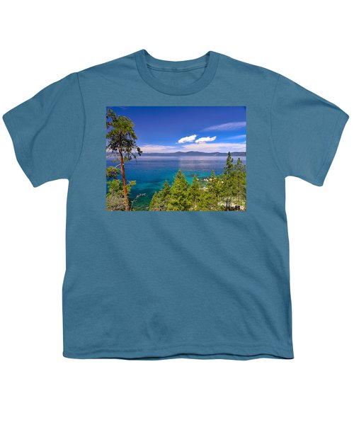 Clouds And Silence - Lake Tahoe Youth T-Shirt