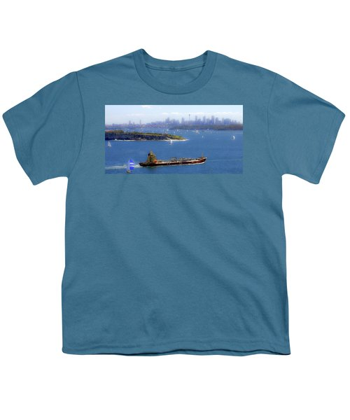 Youth T-Shirt featuring the photograph Coming In by Miroslava Jurcik