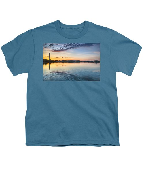 Youth T-Shirt featuring the photograph Democracy Awakens by Sebastian Musial