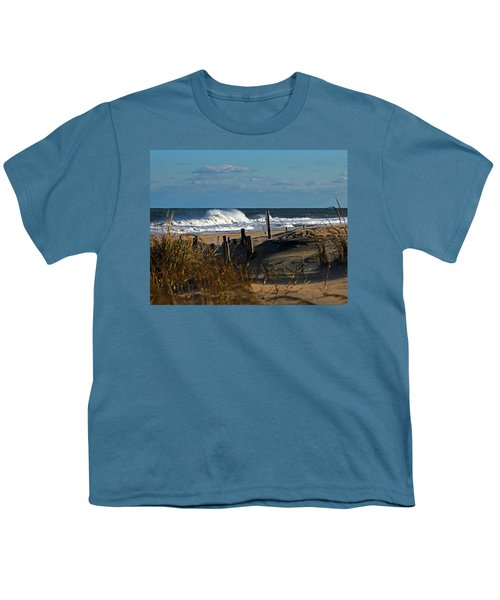 Fenwick Dunes And Waves Youth T-Shirt