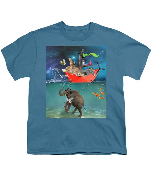 Floating Zoo Youth T-Shirt