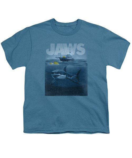 Jaws - Silhouette Youth T-Shirt