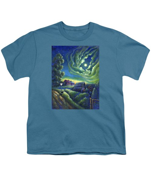 Moonlit Dreams Come True Youth T-Shirt