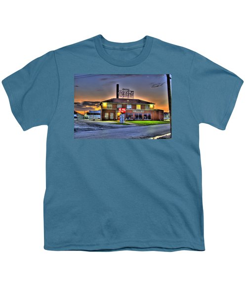 Old Coca Cola Bottling Plant Youth T-Shirt