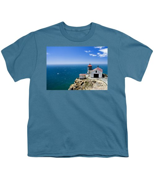 Point Reyes Lighthouse California Youth T-Shirt