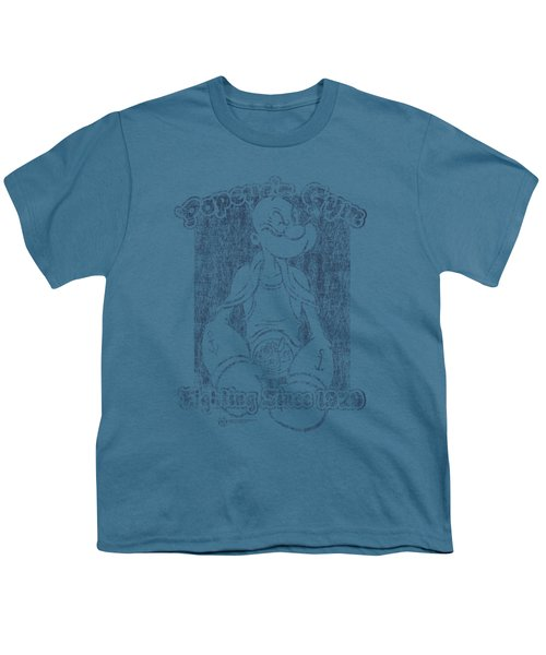 Popeye - Popeye's Gym Youth T-Shirt by Brand A