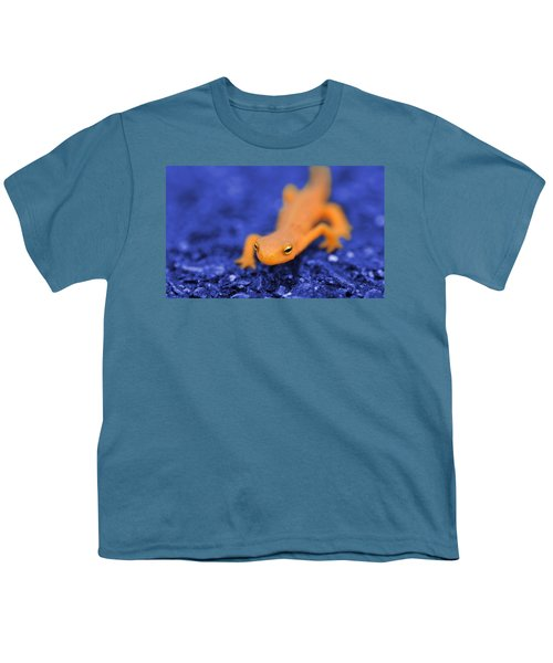 Sly Salamander Youth T-Shirt by Luke Moore