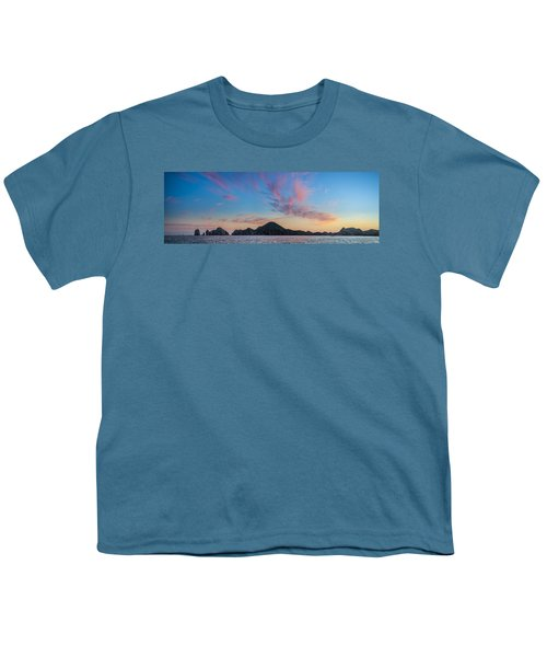Youth T-Shirt featuring the photograph Sunset Over Cabo by Sebastian Musial