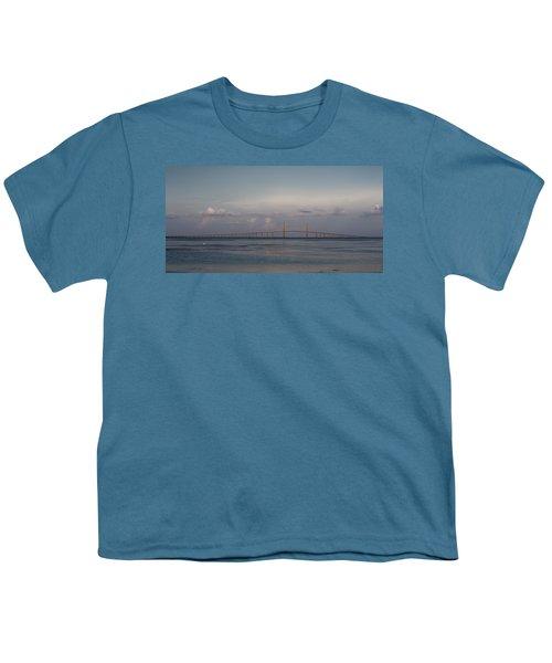 Sunshine Skyway Bridge Youth T-Shirt