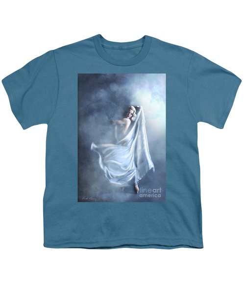 Youth T-Shirt featuring the digital art That Single Fleeting Moment When You Feel Alive by Linda Lees