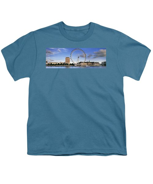 The London Eye Youth T-Shirt by Rod McLean