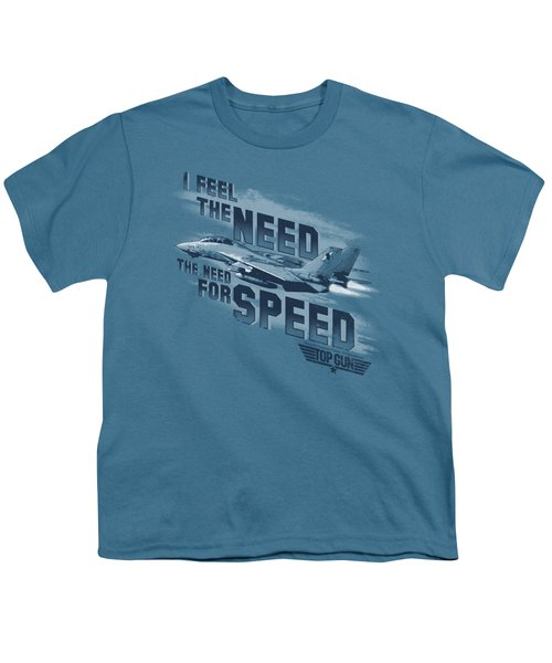 Top Gun - Need For Speed Youth T-Shirt by Brand A