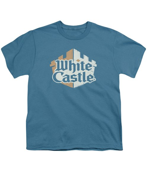White Castle - Torn Logo Youth T-Shirt by Brand A