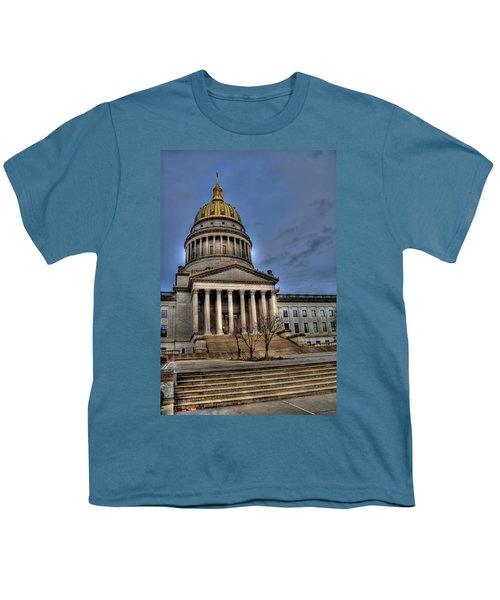 Wv Capital Building 2 Youth T-Shirt