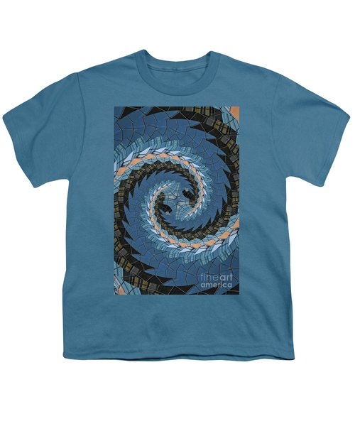 Youth T-Shirt featuring the photograph Wave Mosaic. by Clare Bambers